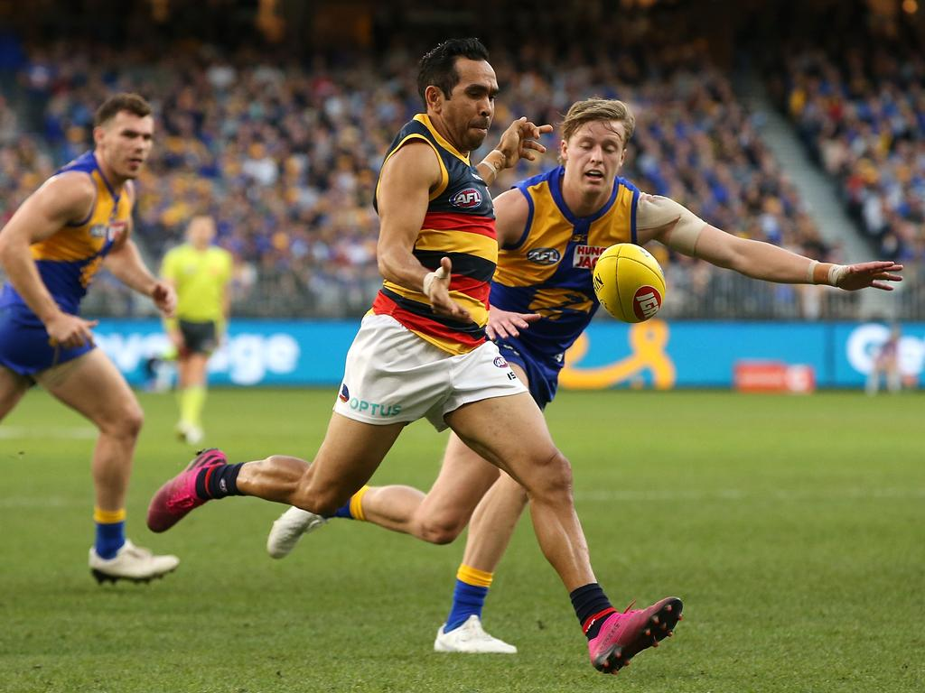Eddie Betts could leave the Crows.