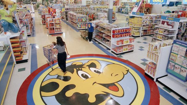 When Toys R Us was bought by private equity it was in good health. Picture: AP Photo/Daniel Hulshizer).