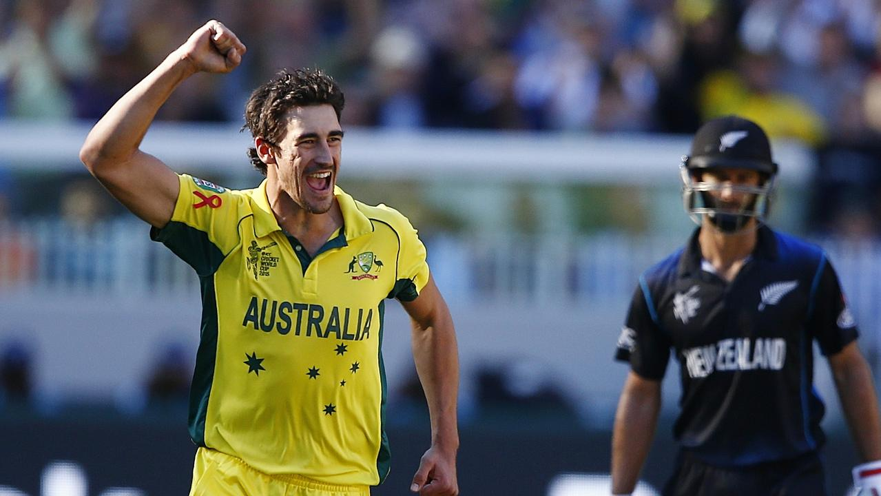Mitchell Starc is looking to rediscover the swing that made him unplayable in 2015.