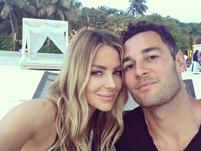 Jennifer Hawkins and Jake Wall sold their Newport home for the northern beaches property record. Source: Instagram.