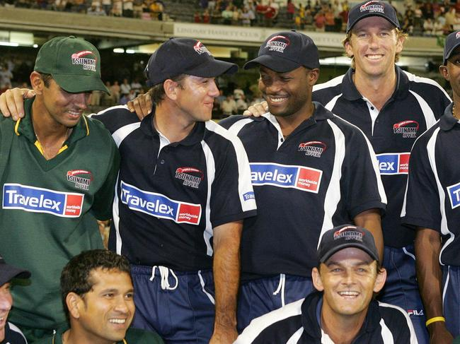 "The ""Bushfire Cricket Bash"" will be similar to the Tsunami appeal match in 2005."