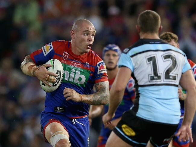 David Klemmer had a huge start to his Knights career.