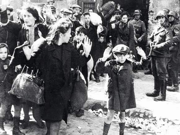 The Warsaw ghetto uprising by the Polish resistance failed when Soviet forces delayed their arrival.