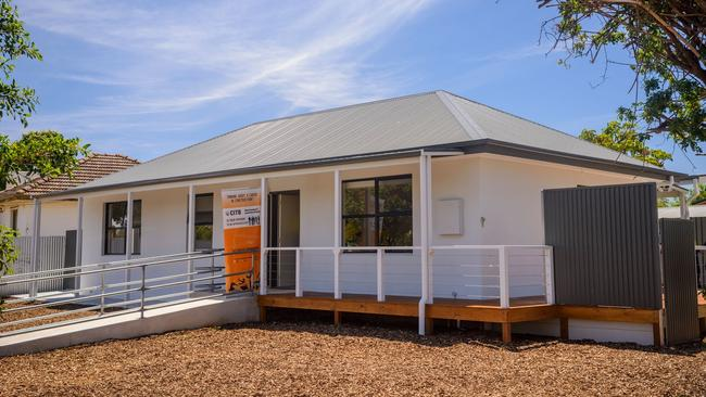 The Elizabeth Downs home following the renovation. Supplied by South Australia Construction Industry Training Board.