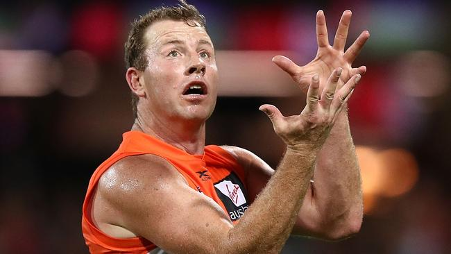 Steve Johnson has been ruled out of GWS's clash against West Coast. Picture: Getty