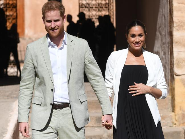 Meghan and Harry are expecting their first child this month. Picture: Facundo Arrizabalaga — Pool/Getty Images