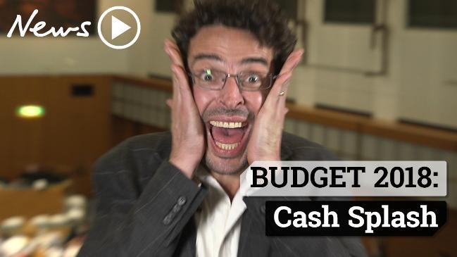 BUDGET 2018: Cash Splash