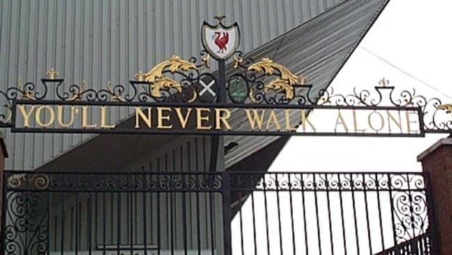 You'll never walk alone lyrics: Liverpool song words