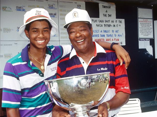 Tiger's father Earl drove him to great heights.
