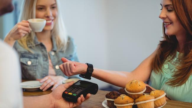 Paying using a smartwatch is one of the newest forms of technology being offered.