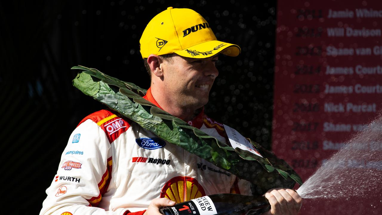 Scott McLaughlin got what he came for in Adelaide.