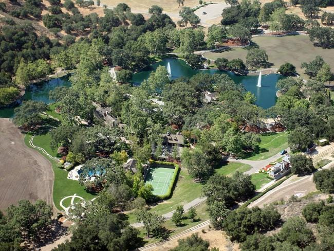 The ranch is spread over 2,700-acres.