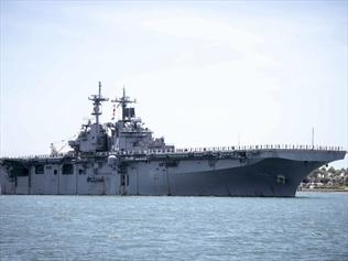 US says navy destroys Iranian drone
