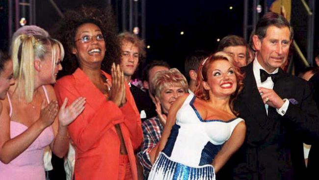 "Geri Halliwell's ""cheeky"" moment with Prince Charles."