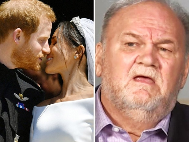 Thomas Markle is shaping up to face off with his estranged daughter in court. Picture: ITV