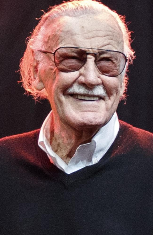 Stan Lee died on Monday. Picture: Rich Polk/Getty Images for Entertainment Weekly
