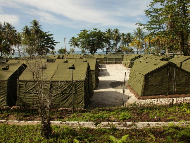A 2012 supplied image of the Manus Island facility. Picture: Getty Images