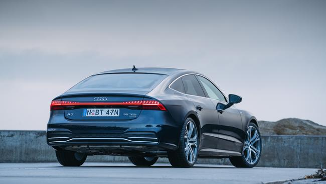 Sportback: Front and rear, the safety tech is comprehensive