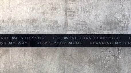 Nice of them to ask how your mum is, I guess.