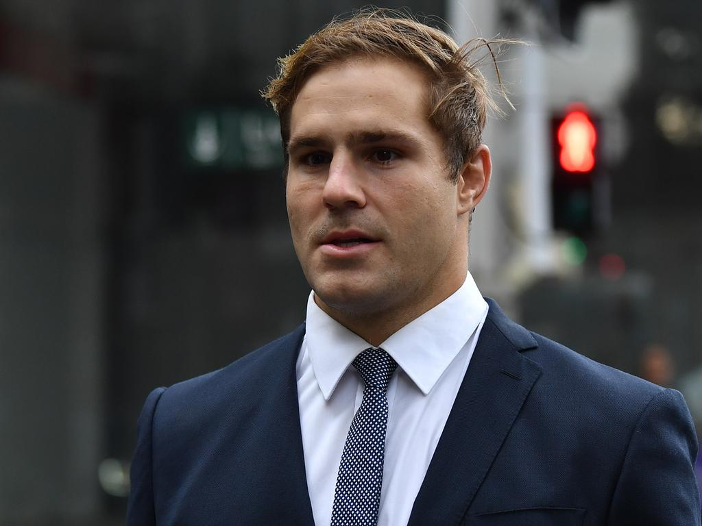 NRL player Jack de Belin maintained the sex was consensual. Picture: NCA NewsWire / Joel Carrett