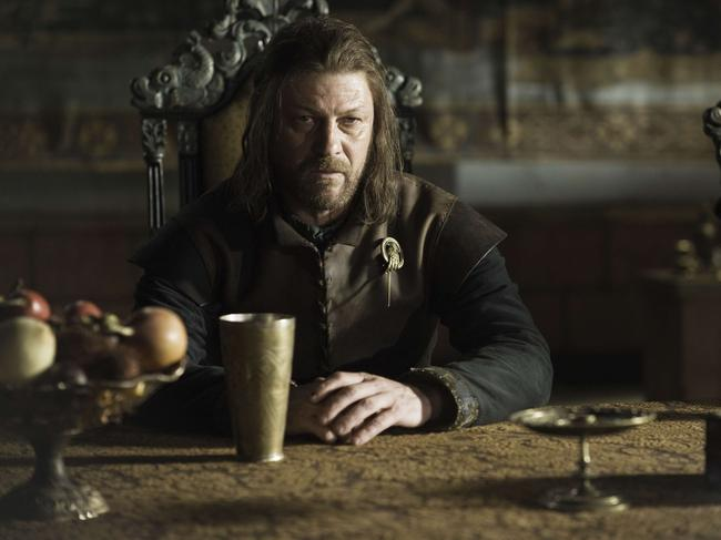 King Robert Baratheon wants Ned Stark, pictured, to be the man.