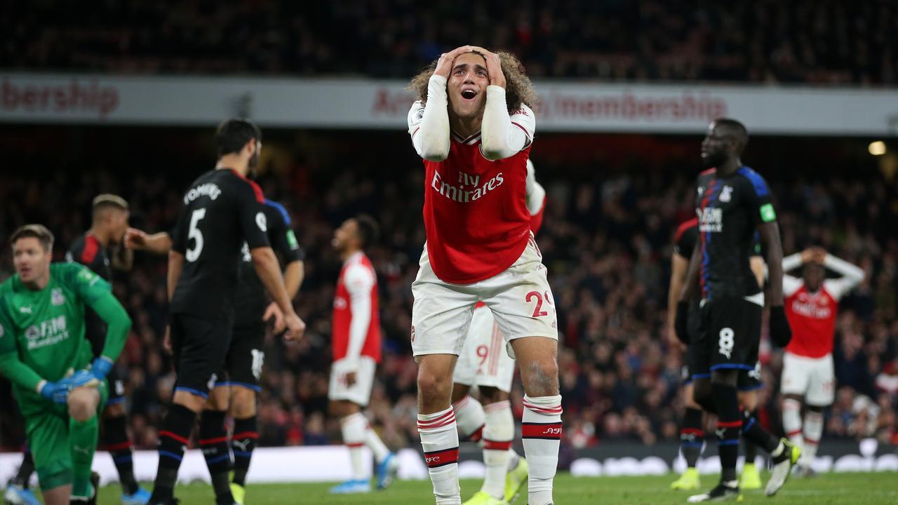 Arsenal were cruelly denied by VAR.