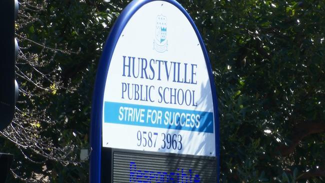 The incident occurred outside Hurstville Public School.