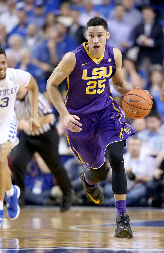 Simmons is a projected top-two pick in the 2016 NBA Draft.