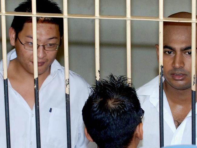 Waiting ... A social media movement under the hashtag #BoycottBali is being fought by Indonesians, who are questioning why Australians would support drug traffickers such as condemned Bali Nine duo Andrew Chan and Myuran Sukumaran. Picture: AFP.