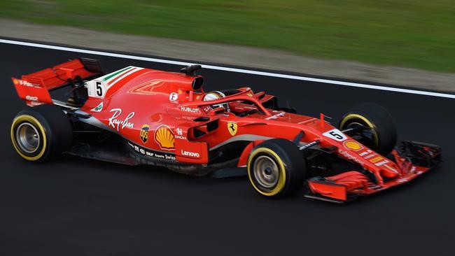 The new Ferrari was fastest overall in pre-season testing.