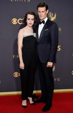 Claire Foy and Matt Smith attend the 69th Annual Primetime Emmy Awards at Microsoft Theater on September 17, 2017 in Los Angeles. Picture: Getty