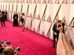 St Vincent, Joe LoCicero and Gina Rodriguez attend the 90th Annual Academy Awards on March 4, 2018 in Hollywood, California. Picture: AFP