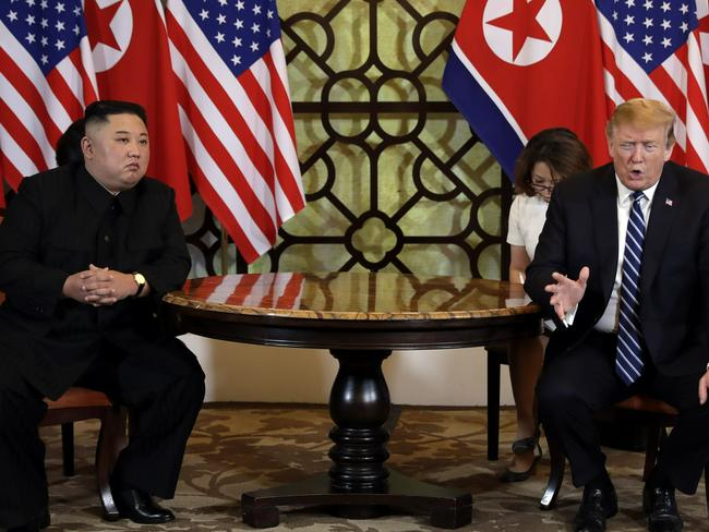 The US says it expects Kim Jong-un to honour his promise and keep missile launches on hold. Picture: AP