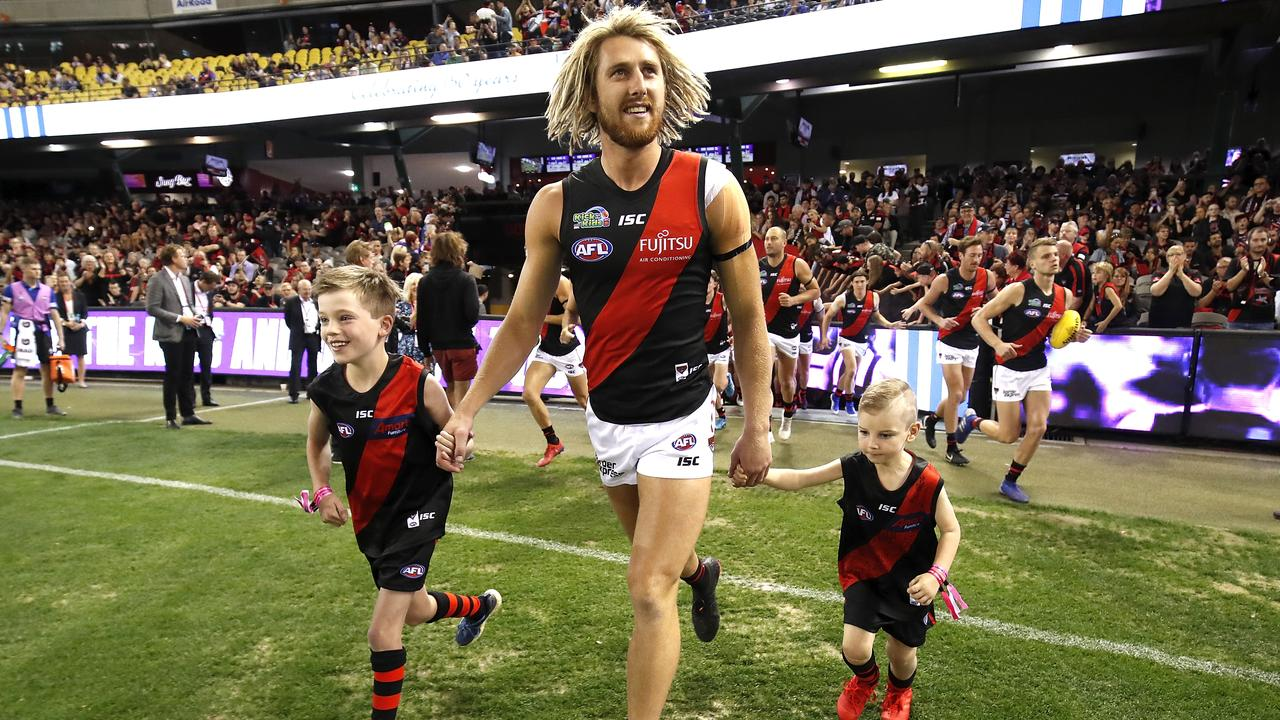The Bombers were big on-field winners in their first Good Friday game. (Photo by Dylan Burns/AFL Photos/Getty Images)