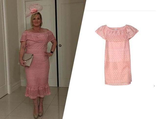 51e80ec6d648 Kmart  Melbourne Cup outfit hack shared by savvy bargain hunter