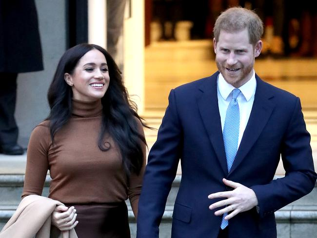 Meghan and Harry's engagements last week were carefully chosen to show their intention to continue as they see fit. Picture: Chris Jackson/Getty Images