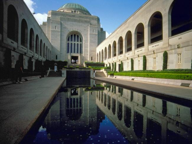 Australian War Memorial Canberra to host the 100th anniversary of WWI armistace this year. Picture: Visit Canberra