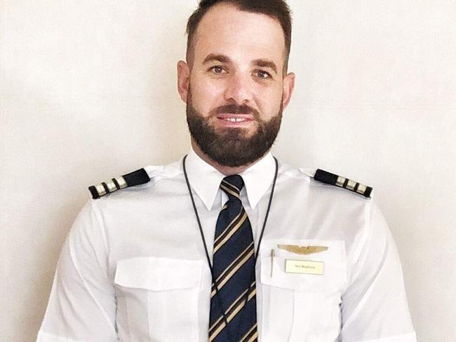Boeing 777 First Officer Neil Maybury. Picture: Emirates