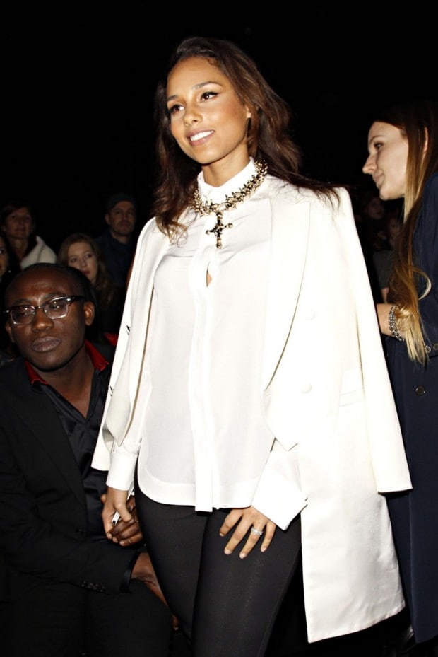 Givenchy Ready-to-Wear A/W 2012/13 front row gallery