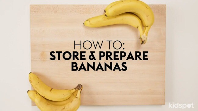How to store and prepare bananas