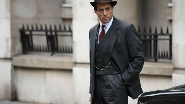 In this new show, Hugh Grant has the chance to show off his incredible acting chops. Image: 'A Very English Scandal' (2018)