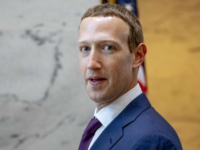 US Congress is looking into whether tech giants such as Facebook have gotten too big. Picture: Samuel Corum/Getty Images/AFP