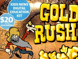 Artwork for Gold Rush kits at $20 price point