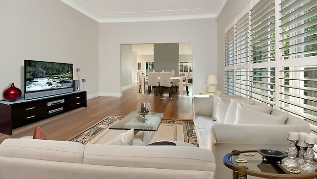 """After: A home which has been """"virtually furnished"""". Picture: Top Snap Photography Professionals"""