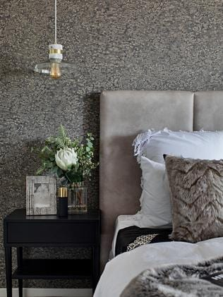 Texture is essential in bedrooms.