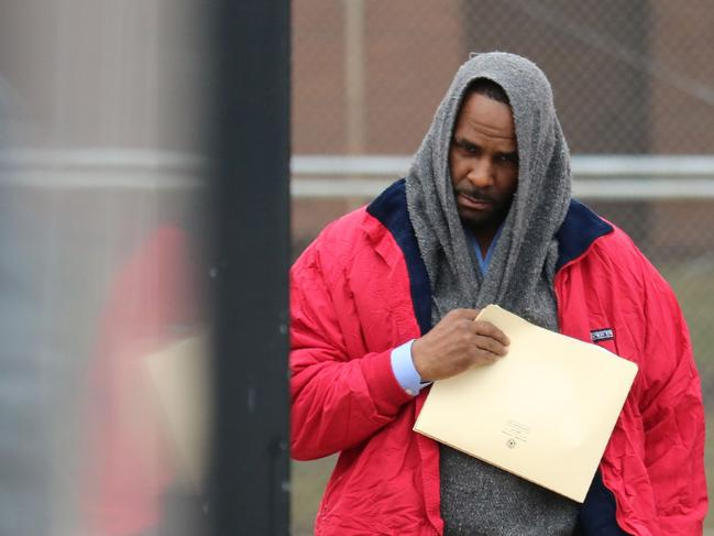 "R Kelly has vowed to ""straighten out"" his money woes and sex abuse charges. Picture: Derek Henkle/AFP"