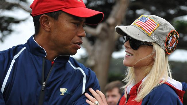 Tiger Woods and Elin Nordegren in 2009.