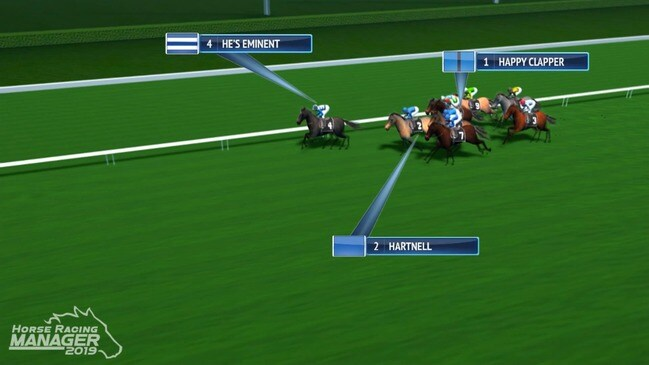 Queen Elizabeth Stakes simulation