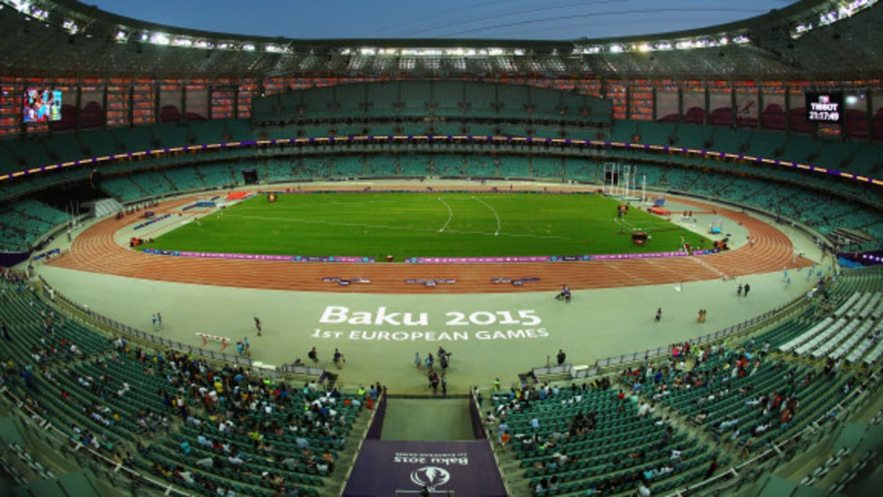 Arsenal and Chelsea fans have shunned the game in Baku