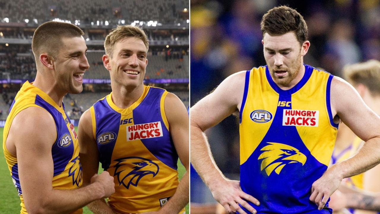 After beating Fremantle by 91 points, West Coast lost to Collingwood by one point six days later.